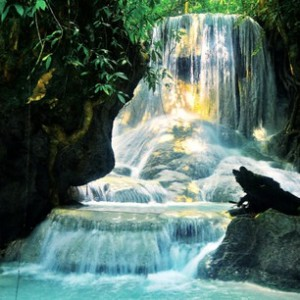 Aguinid Waterfall
