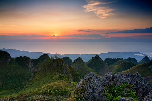 Osmena Peak Sunset